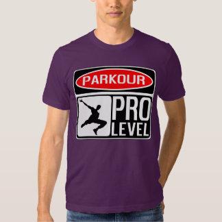 Parkour Pro Level Signboard Tee Shirt