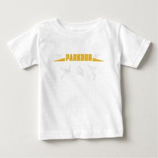 Parkour Runaway Extreme Sports Stunt Free Running Baby T-Shirt