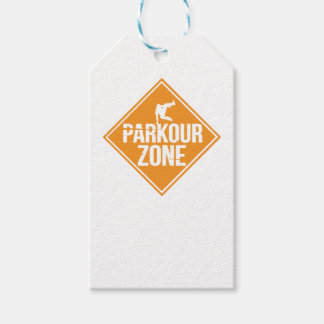 Parkour Runaway Extreme Sports Stunt Free Running Gift Tags