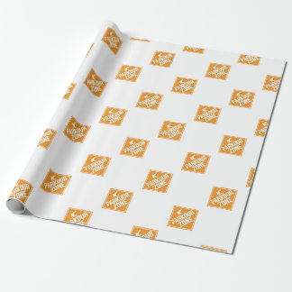 Parkour Runaway Extreme Sports Stunt Free Running Wrapping Paper