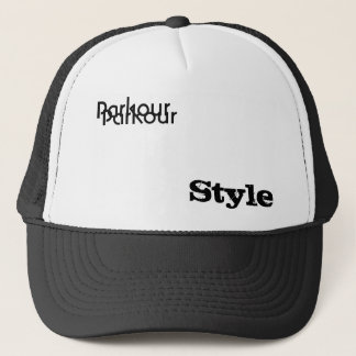 Parkour, Style, Parkour Trucker Hat