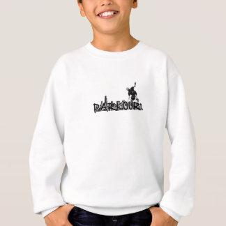 Parkour Traceur B&W Style Sweatshirt