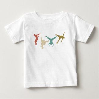Parkour Vintage Extreme Sports Stunt Free Running Baby T-Shirt