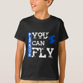 Parkour - You Can Fly Tee Shirts