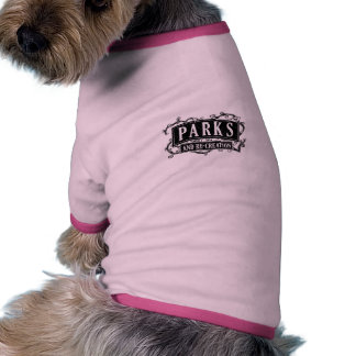 Parks and Re-Creation Dog T Shirt