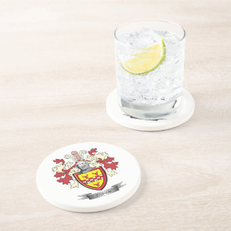 Parks Family Crest Coat of Arms Coaster