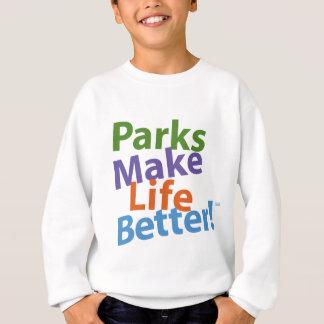 Parks Make Life Better! Official Logo Sweatshirt