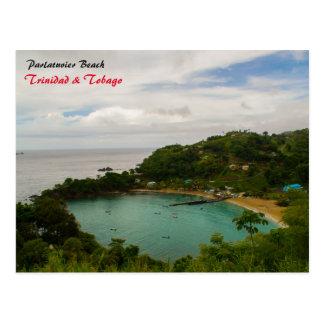 Parlatuvier Beach Postcard