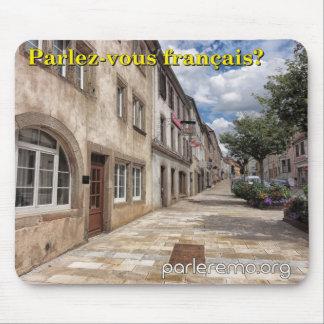 Parlez-vous français Sarre-Union France Mouse Pad
