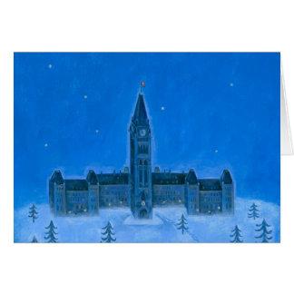 Parliament Buildings Ottawa Christmas Card