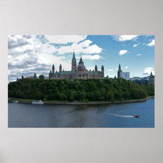 Parliament Hill Ottawa Canada Poster