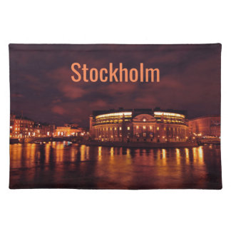 Parliament House in Stockholm, Sweden Placemat