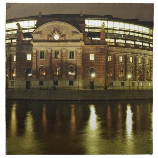Parliament House (Riksdagshuset) in Stockholm Napkin