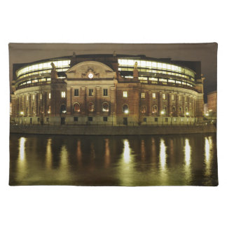 Parliament House (Riksdagshuset) in Stockholm Placemat