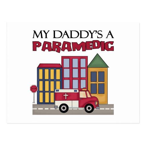 Parmedic Gift Post Card