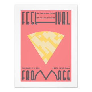 'Parmesan' Cheese Poster – Minimal Photo