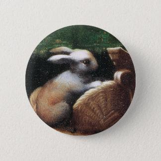 Parmigianino 1523 Rabbit 6 Cm Round Badge