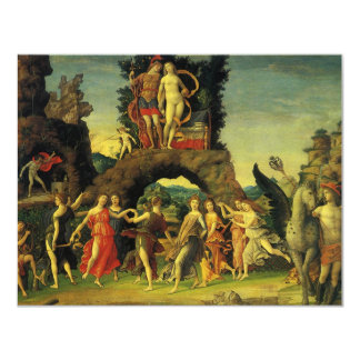 Parnassus, Mars and Venus by Andrea Mantegna Card