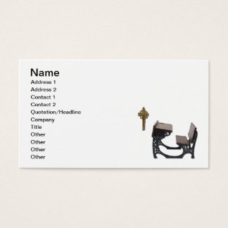 Parochial School Desk Business Card