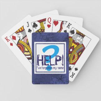 Parody Monogram Playing Cards
