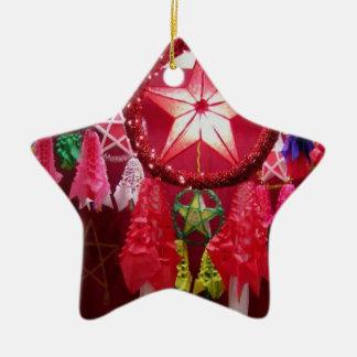 Parol Ceramic Star Decoration