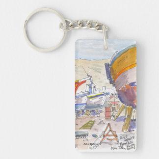 Paros Greece Keychain Acrylic Keychains