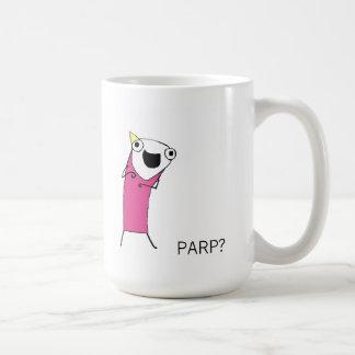 PARP? BASIC WHITE MUG