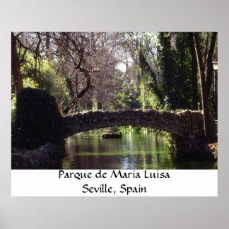 Parque de Maria Luisa Poster