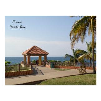 Parque del Faro Rincon Puerto Rico Postcard