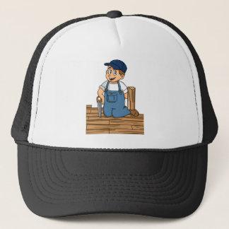 Parquet Flooring Floor Fitter CAS UAL Construction Trucker Hat
