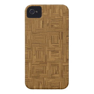Parquet Wood Floor Panel Print iPhone 4 Case-Mate iPhone 4 Covers