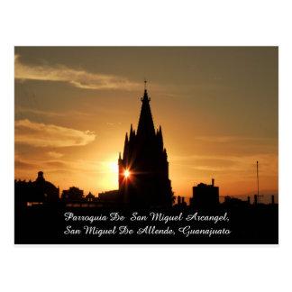 Parroquia  San Miguel Allende Mexico Postard Postcard