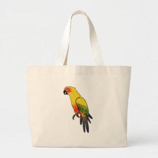 Parrot #2 large tote bag