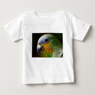 Parrot Amazon Animals Bird Green Exotic Bird Baby T-Shirt