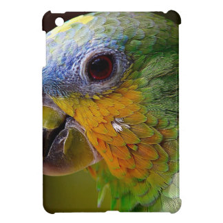 Parrot Amazon Animals Bird Green Exotic Bird iPad Mini Cover