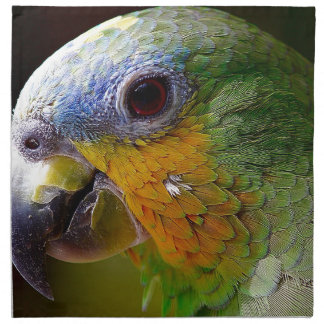Parrot Amazon Animals Bird Green Exotic Bird Napkin
