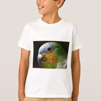 Parrot Amazon Animals Bird Green Exotic Bird T-Shirt