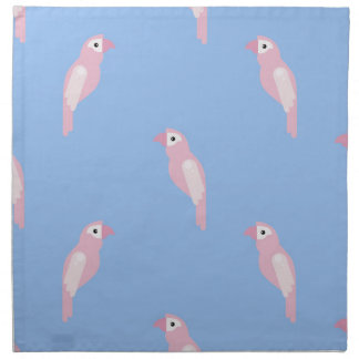 Parrot Ara Seamless Colorful Vector Pattern Napkin