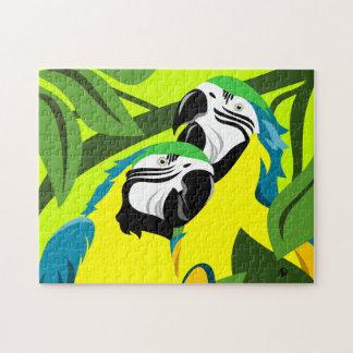 Parrot Art Puzzles