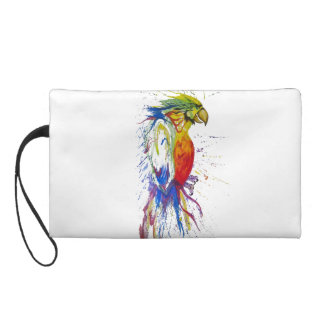 Parrot Bird Animal Wristlet