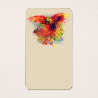 Parrot Blank Bussiness cards