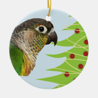 Parrot Ceramic Ornament for the Holidays