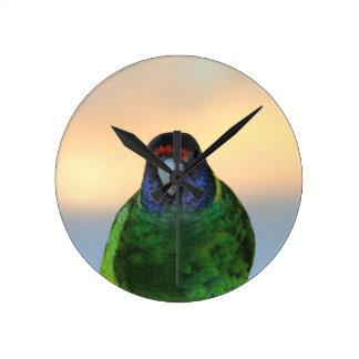 parrot wallclock