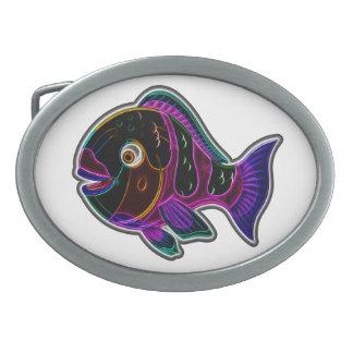 Parrot fish belt buckles