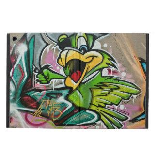Parrot Graffiti Art Design iPad Air Cover