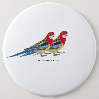 Parrot image for Colossal Round Badge