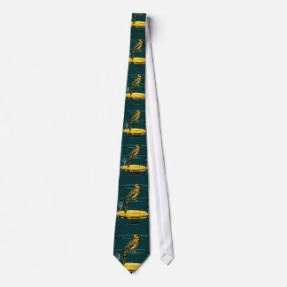 Parrot in a Gilded Cage Tie