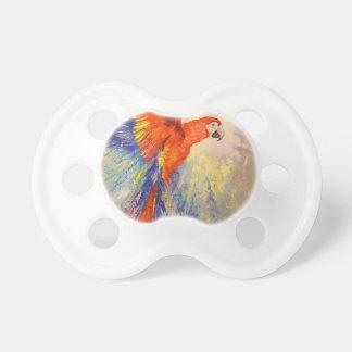 Parrot in flight pacifiers