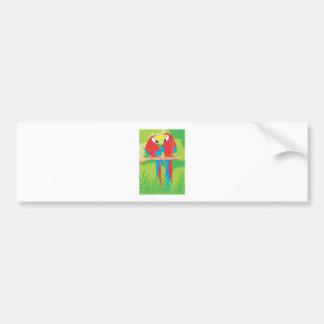 Parrot Lovers Bumper Sticker