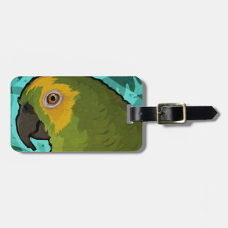 Parrot Luggage Tag
